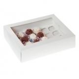 Caja con ventana para 24 minicupcakes