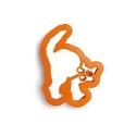 cortador gato halloween