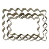 Cortador Rectangular Ondulado 4.5 x 3 cm